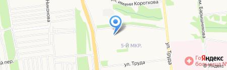 Сладкоежка на карте Ижевска