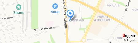 40 лет Победы 116 на карте Ижевска