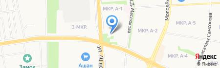 ДЮСШ №8 на карте Ижевска