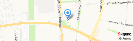 Библиотека №23 на карте Ижевска
