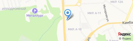Огненный Лотос на карте Ижевска