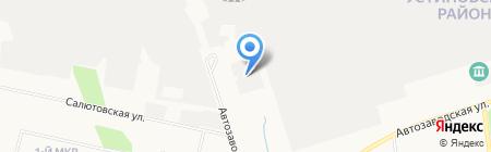 Зеленая усадьба на карте Ижевска
