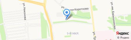 Сёма на карте Ижевска