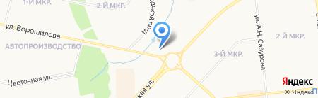 Дом моделей на карте Ижевска
