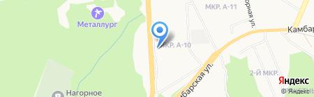Izhpromo.ru на карте Ижевска