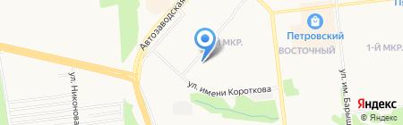 Благо на карте Ижевска