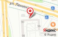 Схема проезда до компании Феррум в Ижевске