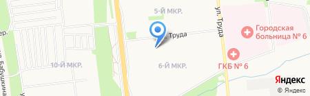 Sos-сервис на карте Ижевска