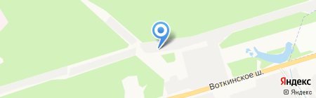 Подшипник на карте Ижевска