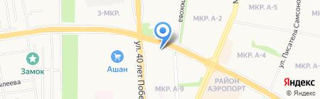Капитал на карте Ижевска