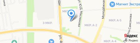 Детский сад №14 на карте Ижевска