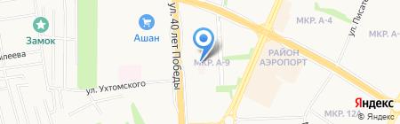 Металлист на карте Ижевска
