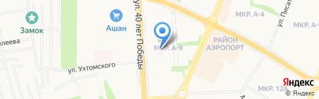 Бим на карте Ижевска