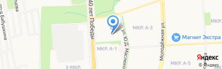 Авоська на карте Ижевска