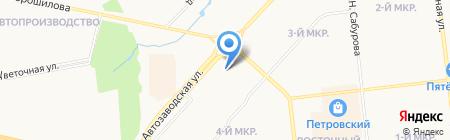 Столица мира на карте Ижевска
