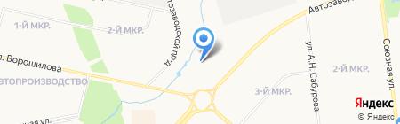 А-Деталь на карте Ижевска