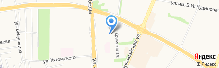 Детский сад №270 на карте Ижевска