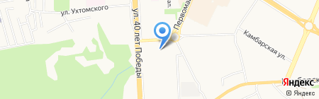 Елена на карте Ижевска