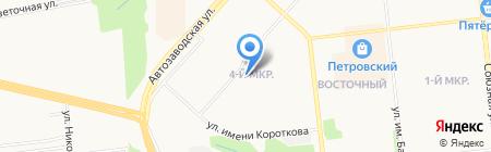 Детский сад №198 на карте Ижевска