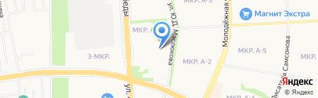 Отдел образования по Устиновскому району Управления образования Администрации г. Ижевска на карте Ижевска