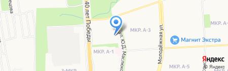 Детский сад №258 на карте Ижевска