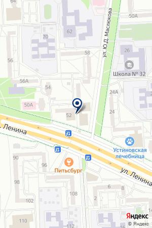 IZHALLCOM на карте Ижевска