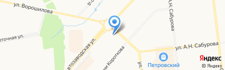 ЗооГрад на карте Ижевска