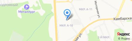 Фабрика современных покрытий на карте Ижевска