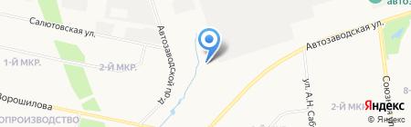 Пальма на карте Ижевска