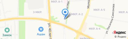 Сотовик на карте Ижевска