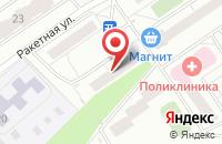 Схема проезда до компании Лана-17 в Ижевске