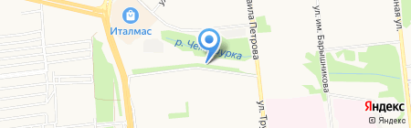 Анастасия на карте Ижевска
