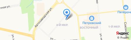 Детский сад №216 на карте Ижевска