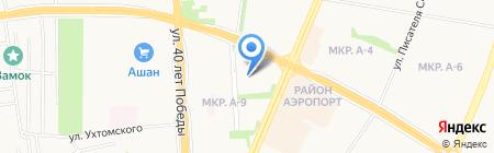 Детский сад №95 на карте Ижевска