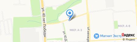 Техноком на карте Ижевска