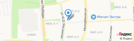 Купол на карте Ижевска