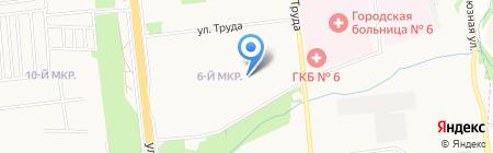Управление социальной защиты населения Устиновского района на карте Ижевска