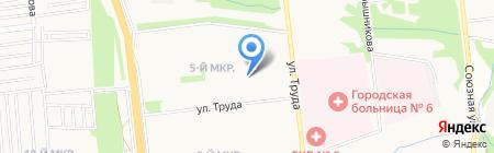 Ромэо на карте Ижевска