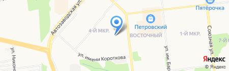 ОЙЛЗ на карте Ижевска