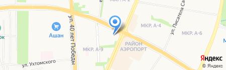 Перевоз на карте Ижевска