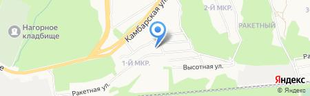 Грин Руф на карте Ижевска