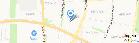 Детская школа искусств №8 на карте Ижевска