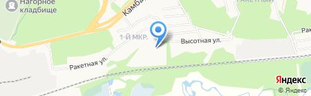 Ракетный-1 на карте Ижевска