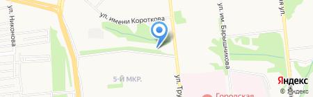 Италмас на карте Ижевска