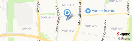 Гамбринус на карте Ижевска
