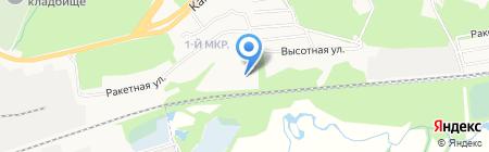 Ракетная на карте Ижевска