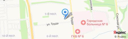 Участковый пункт полиции №24 на карте Ижевска