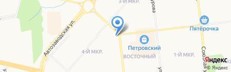 Ижвижн на карте Ижевска