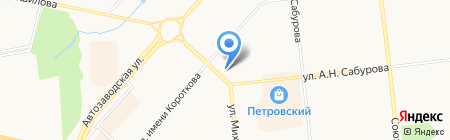 Лаванда на карте Ижевска