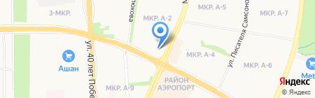 Кировский трикотаж на карте Ижевска